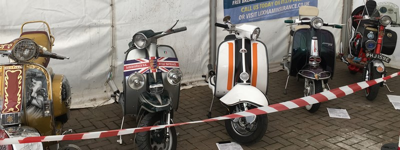Mersea Island Scooter Rally 2016