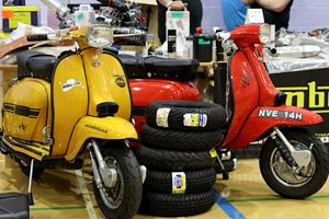 Stalls and traders at ScooterExpo 2019