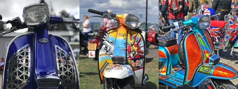 Top 10 Custom Scooters at Scooter Rallies