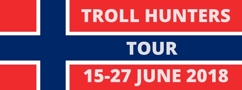 Troll Hunters tour charity ride