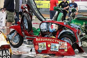 The Stone Roses Resurrection scooter was a personal favourite