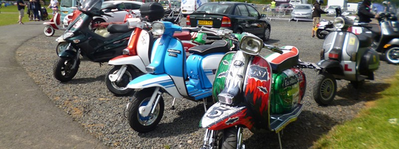 Kelso BSRA National Scooter Rally 2016