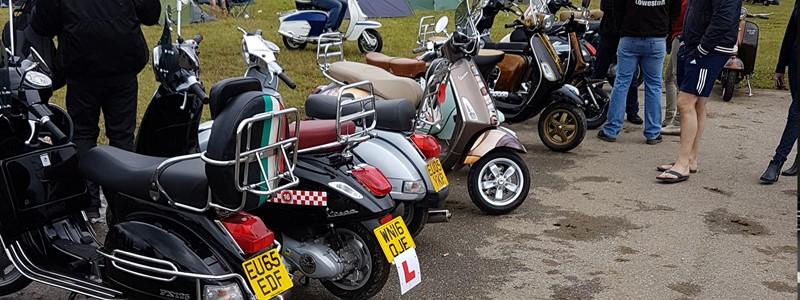 The 'Big 7' National Scooter Rally